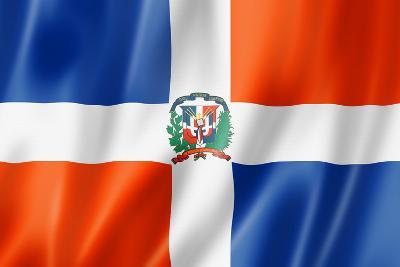 Dominican Republic Flag-daboost-Art Print