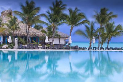 Dominican Republic, Punta Cana, Cap Cana, Swimmkng Pool at the Sanctuary Cap Cana Resort and Spa-Jane Sweeney-Photographic Print