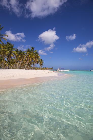 Dominican Republic, Punta Cana, Parque Nacional Del Este, Saona Island, Canto De La Playa-Jane Sweeney-Photographic Print