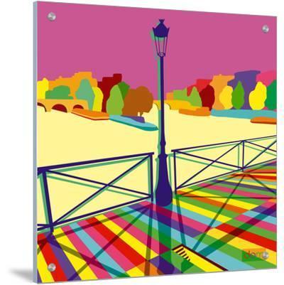 Pont des arts Happy by Dominique Massot