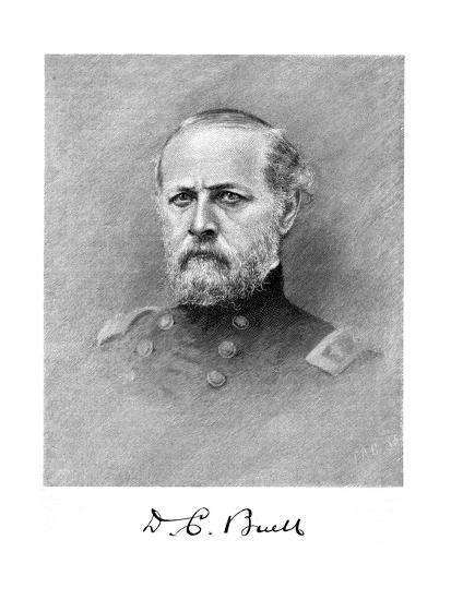 Don Carlos Buell, American Soldier--Giclee Print
