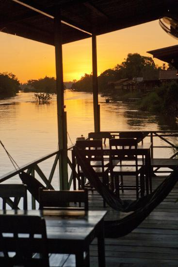 Don Det Is Part of the 4,000 Islands, the Stunning Region at the Southern Tip of Laos-Micah Wright-Photographic Print