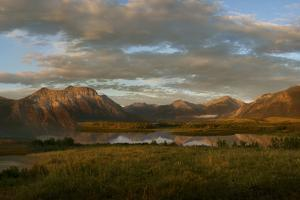 Canada, Alberta, Waterton Lakes National Park. Sunrise Landscape by Don Grall