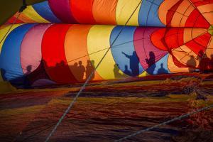 Colorado, Colorado Springs. Hot Air Balloon at the Balloon Festival by Don Grall