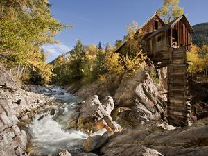 Crystal Mill, Gunnison National Forest, Colorado, USA by Don Grall