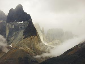 Severe Weather Is the Norm for the Cuernos Del Paine (Horns of Paine) in Torres Del Paine Np by Don Grall