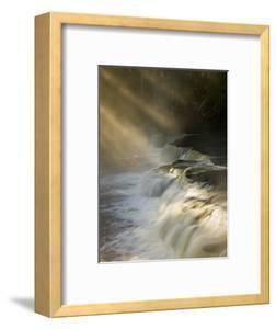 Sunbeams on Tahquamenon Falls, Upper Peninsula, Michigan, USA by Don Grall