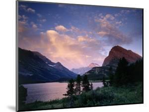 Sunrise Over Landscape, Glacier National Park, MT by Don Grall