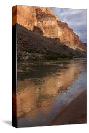 USA, Arizona, Grand Canyon NP. Sunset Reflected on Colorado River