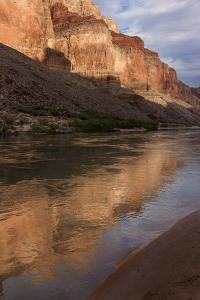 USA, Arizona, Grand Canyon NP. Sunset Reflected on Colorado River by Don Grall