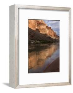 USA, Arizona, Grand Canyon NP. Sunset Reflected on Colorado River by Don Grall