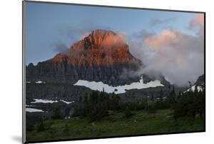 USA, Montana, Glacier National Park. Sunrise on Reynolds Mountain by Don Grall