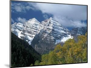 White River Nf, Maroon Bells, CO by Don Grall
