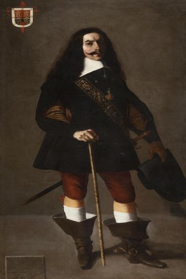 Don Juan Bazo De Moreda, c.1655-Francisco de Zurbaran-Giclee Print
