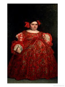Eugenia Martinez Vallejo, Called La Monstrua by Don Juan Carreño de Miranda