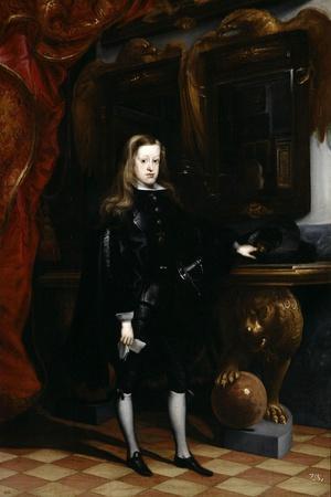 Portrait of Charles II, c.1675
