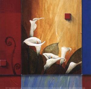 Tranquil Garden by Don Li-Leger
