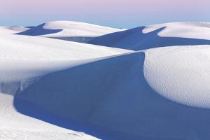 USA, New Mexico, White Sands National Monument. Desert Landscape by Don Paulson
