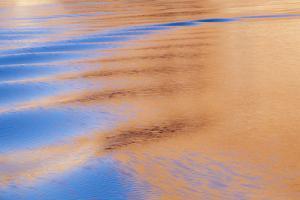 USA, Utah, Glen Canyon National Recreation Area. Boat Wake Patterns by Don Paulson
