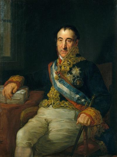Don Pedro Gómez Labrador, Marquis of Labrador (1755-185)-Vicente López Portaña-Giclee Print