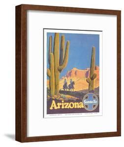 Santa Fe Railroad - Arizona by Don Perceval
