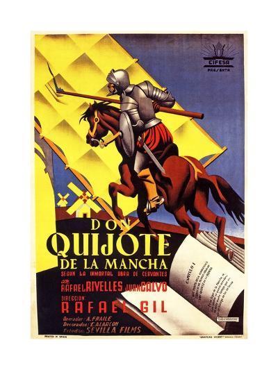 Don Quixote, 1947 (Don Quijote De La Mancha)--Giclee Print