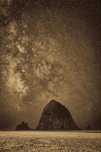 Sparkling Skies Over HaystacK by Don Schwartz