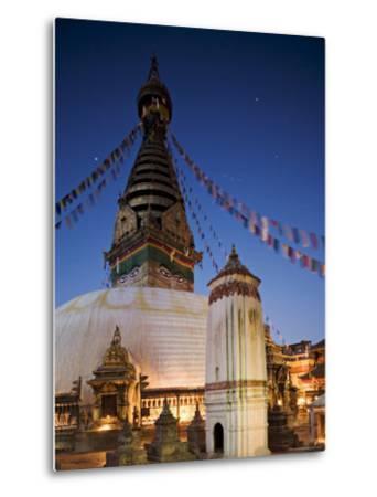 Swayambhunath Buddhist Stupa on a Hill Overlooking Kathmandu, Unesco World Heritage Site, Nepal