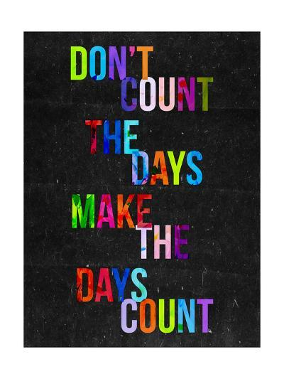 Don't Count the Days-Fimbis-Giclee Print