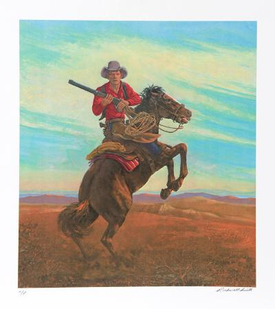 Don't Crowd Me II-Rockwell Smith-Collectable Print