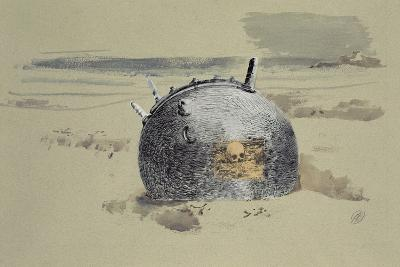 Don't Forget the Diver-Paul Nash-Giclee Print