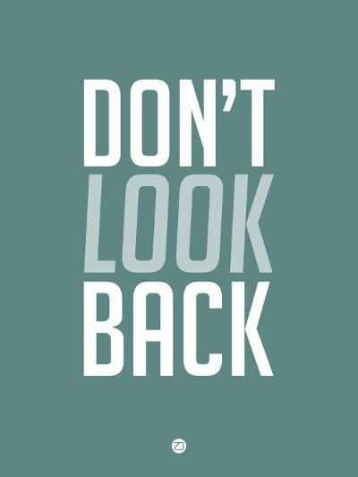 Don't Look Back 2-NaxArt-Art Print
