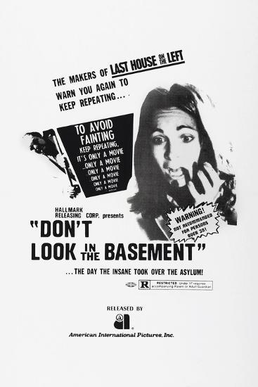 Don't Look in the Basement, 1973--Art Print
