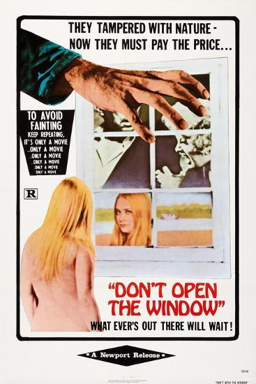 Don't Open the Window--Art Print