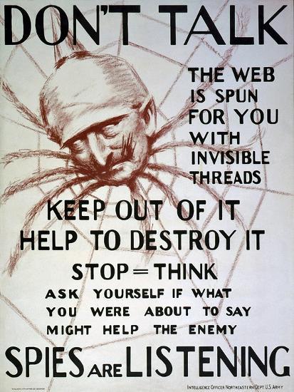 """Don't Talk"", C.1918--Giclee Print"