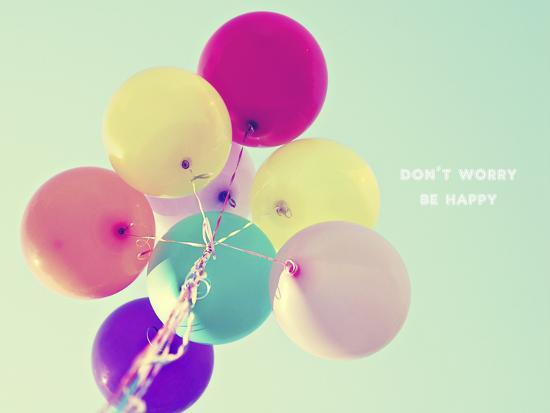 Don't Worry, Be Happy-Libertad Leal-Premium Photographic Print