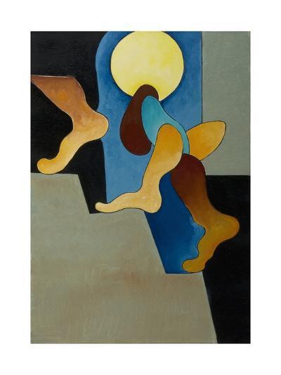 Don't You Hear Those Steps, 2008-Jan Groneberg-Giclee Print