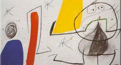 Dona Ocell Estels-Joan Mir?-Art Print