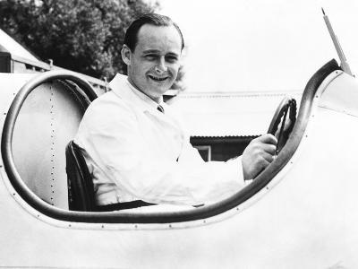 Donald Campbell, Son of Racing Great Sir Malcolm Campbell, in His Father's Speedboat, Blue Bird--Photo
