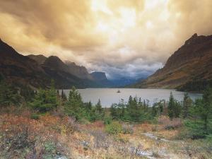 St. Marys Lake, Wild Goose Island, Glacier National Park by Donald Higgs