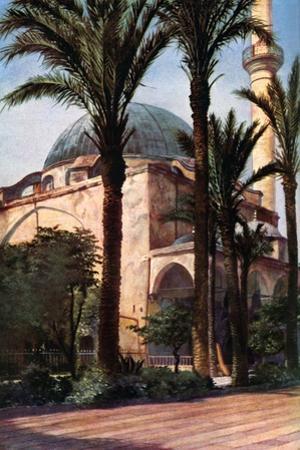 Jezzar Pasha Mosque, Acre, Palestine, C1930S