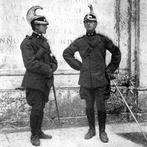 Two Italian Dragoons, 1922 by Donald Mcleish