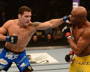 UFC 162: Jul 6, 2013 - Anderson Silva vs Chris Weidman by Donald Miralle