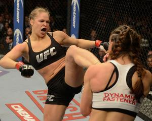 UFC 168: Dec 28, 2013 - Ronda Rousey vs Miesha Tate by Donald Miralle