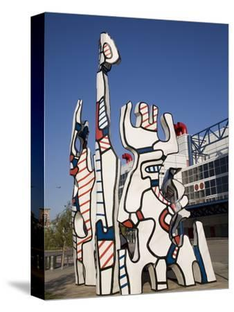 Jean Dubuffet Statue Called, Monument Au Fantome, Downtown Houston, Texas