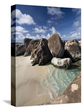 Large Eroded Granite Outcrops at the Baths in Virgin Gorda, British Virgin Islands, West Indies