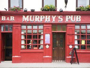 Murphy's Pub in Dingle, County Kerry, Munster, Republic of Ireland, Europe by Donald Nausbaum
