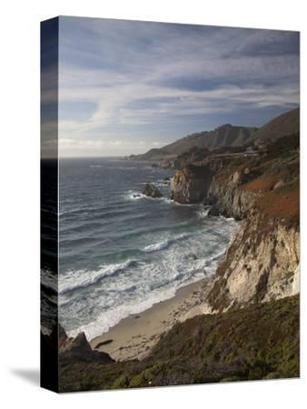Rocky Shoreline South of Carmel, California, United States of America, North America