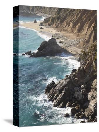 Rocky Stretch of Coastline in Big Sur, California, United States of America, North America