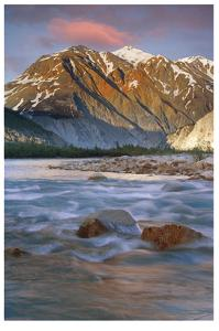 Alsek River I by Donald Paulson